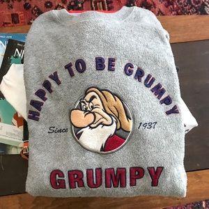 Disney Sweaters - AUTHENTIC DISNEY Happy to be Grumpy Sweatshirt XXL